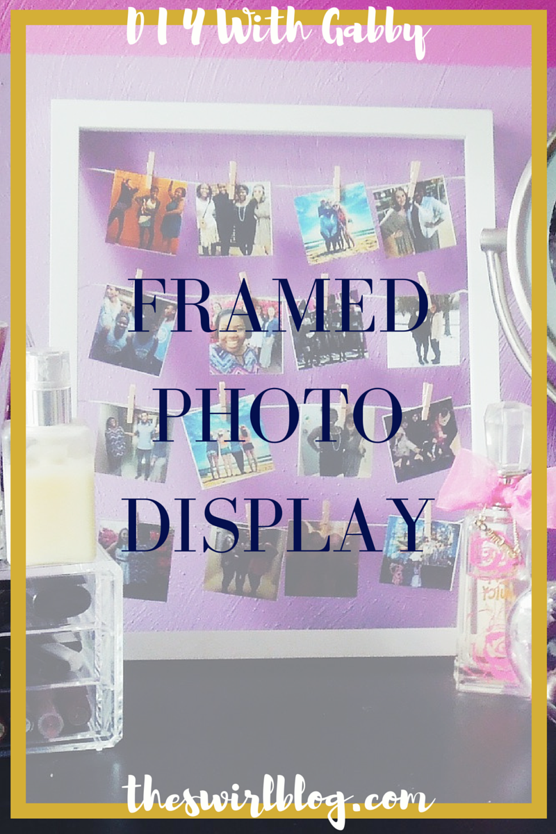 Framed Photo Display_06302015