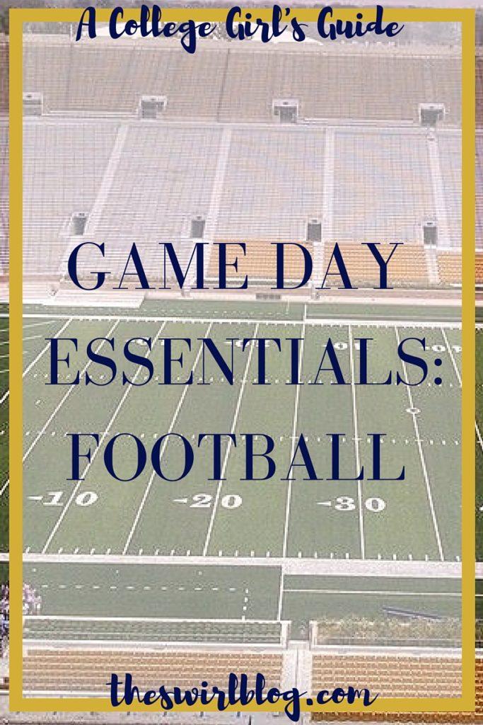 Football Game Essentials