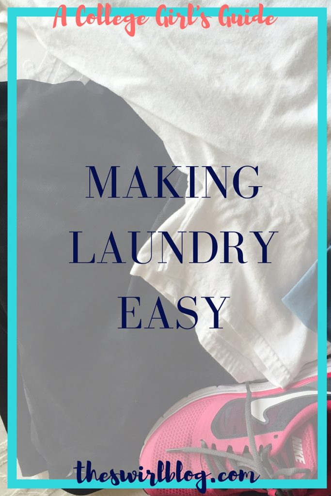 A College Girl's Guide to Making Laundry Easy