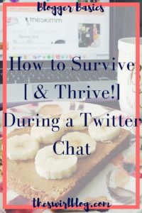 How to Survive a Twitter Chat