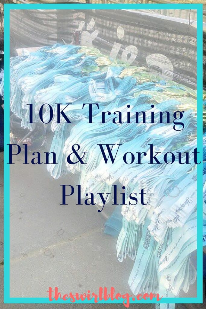 10K Training Schedule and Workout Playlist