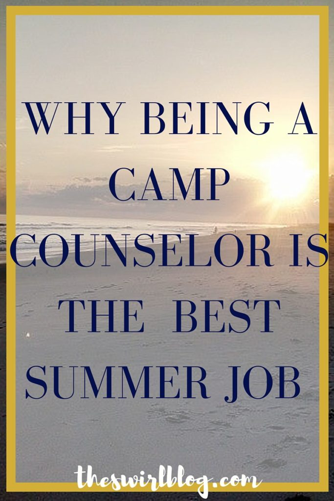 Camp Counselor Best Summer Job
