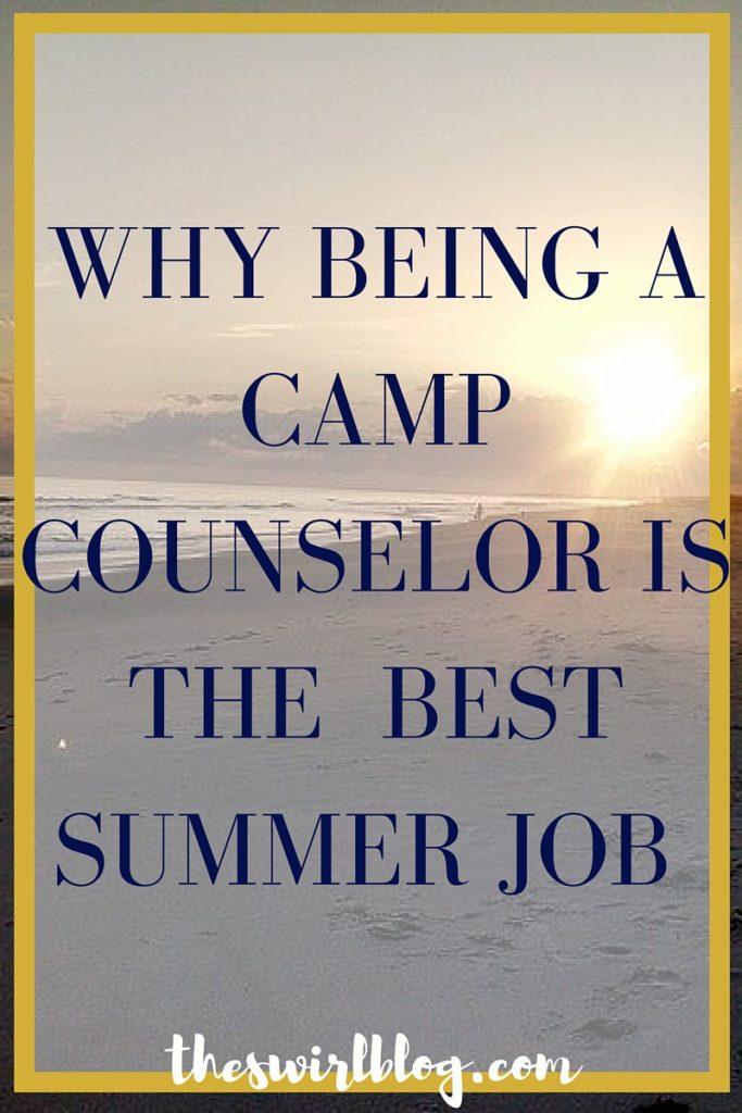 Camp Counselor Best Summer Job