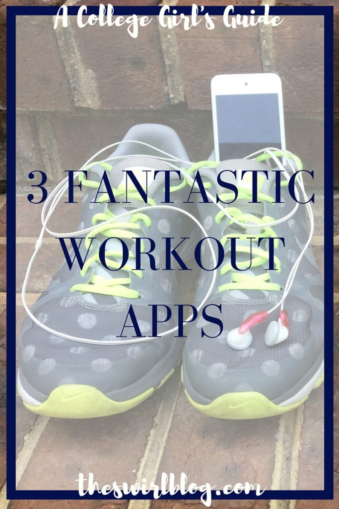 3 Fantastic Workout Apps for College Students