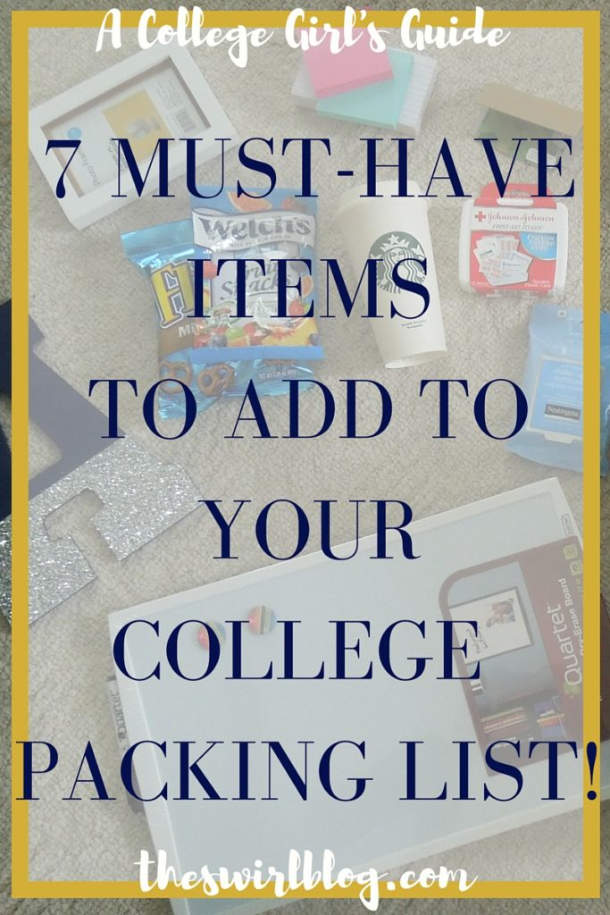 7 Must Have Items to Add to College Packing List