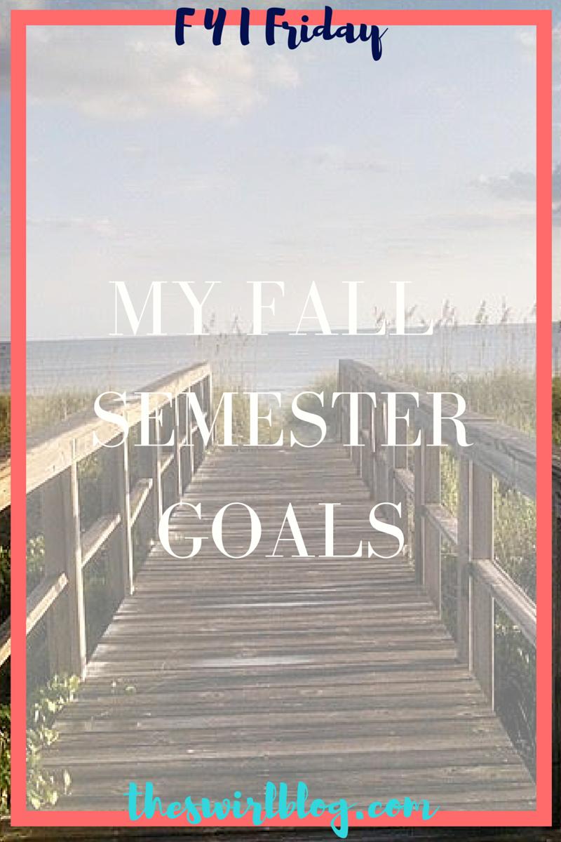 MyFallSemesterGoals_08162015