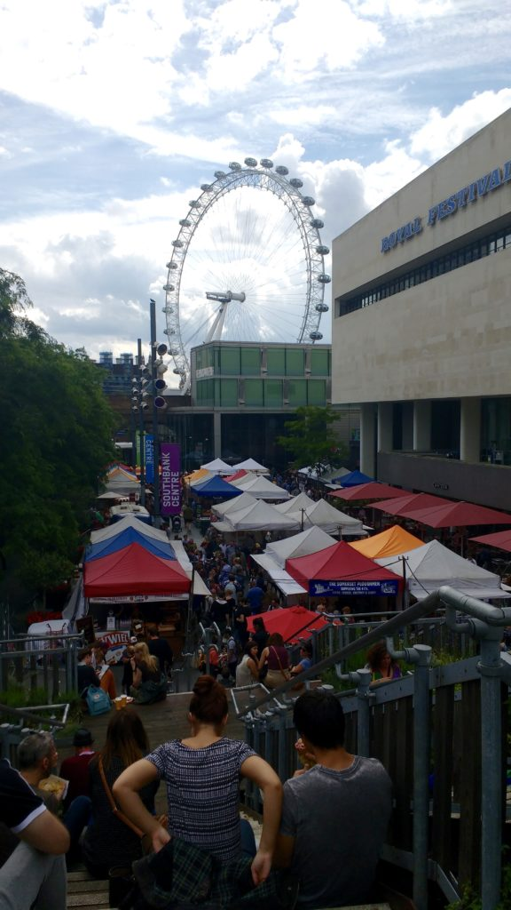 London market Southbank Centre