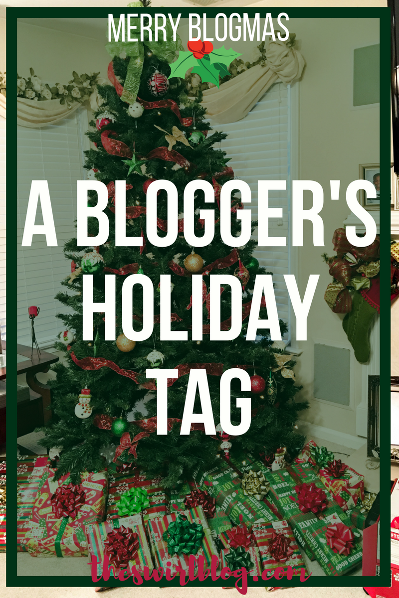 blogger holiday tag