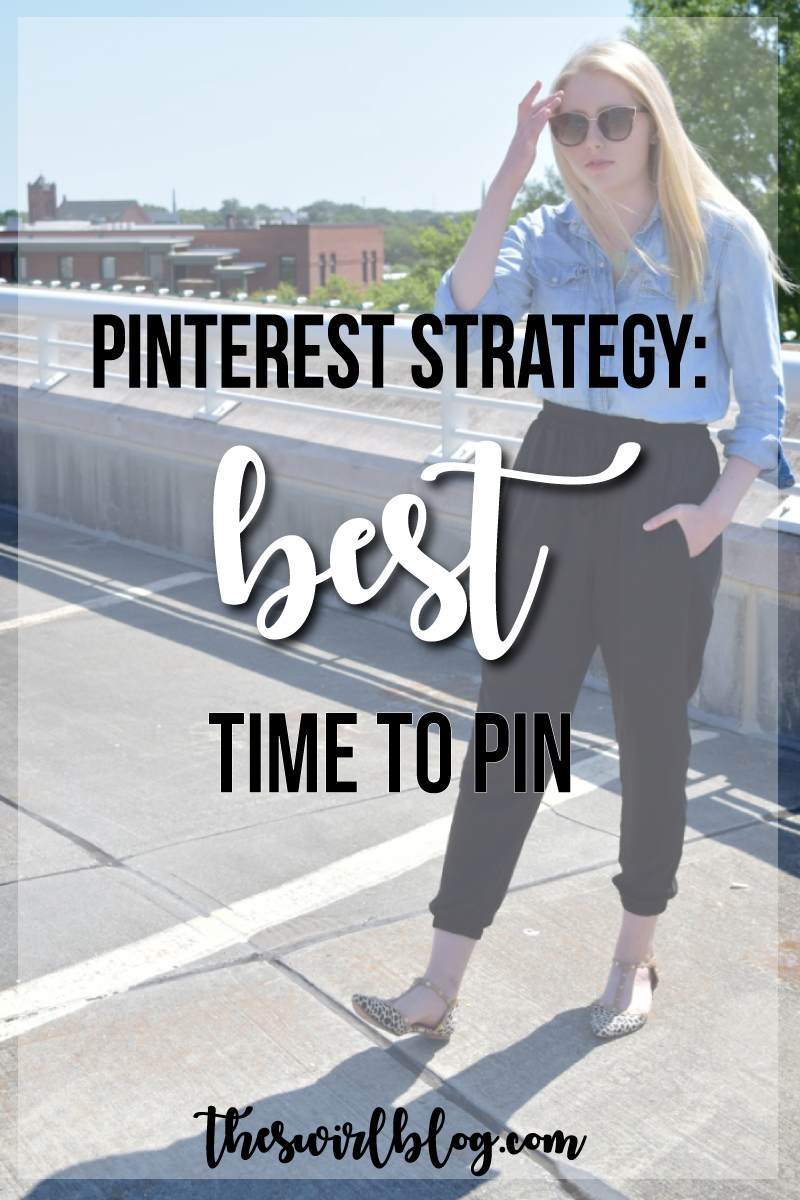 It's pretty easy to create the pin itself, but when exactly is the best time to pin? I'm answering this question (and more) in today's post!