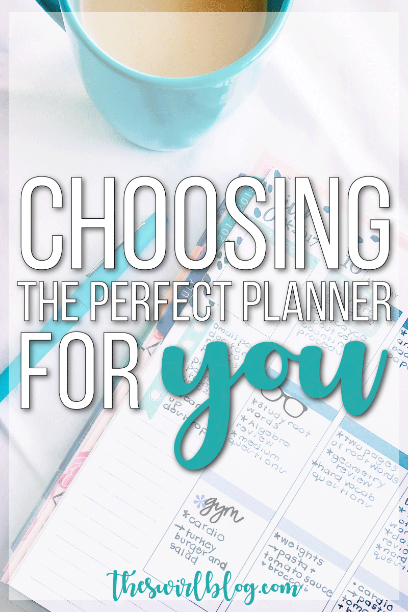 How do you find the perfect planner for your college life? I'm talking about all my favorite planners ever on the blog including the Day Designer, Erin Condren Life Planner, and Lily Pulitzer agenda!