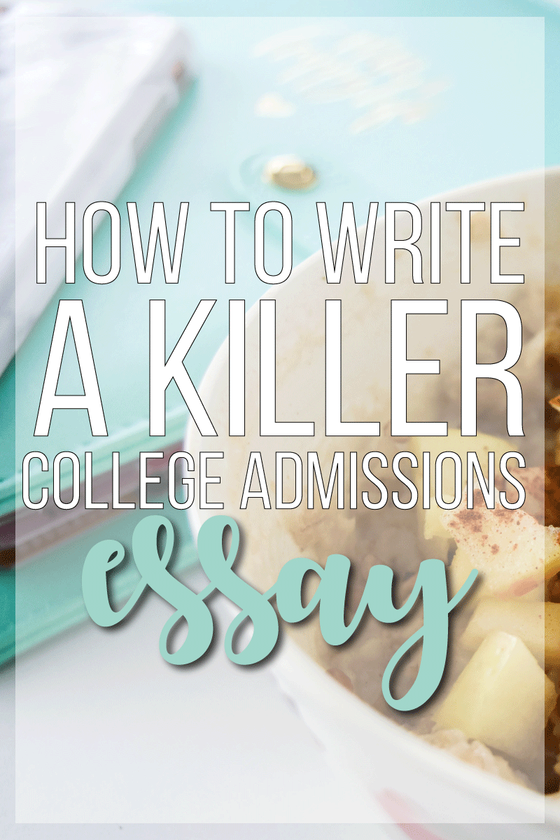 help with write college application essay killer