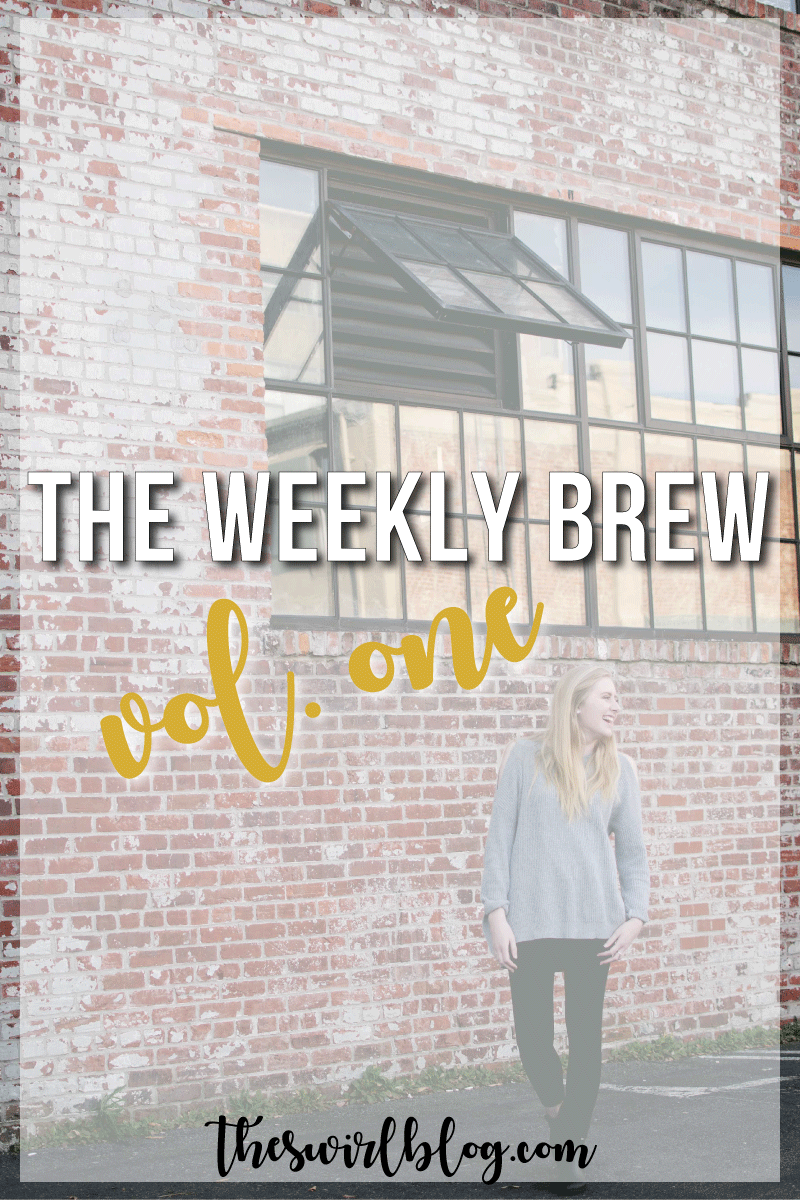 "This weekly chat is all about what I've been up to after the ""bomb cyclone"" dropped 11 inches of snow in my area! Basically, I've been doing a lot of baking and Netflix-binging. No complaints."