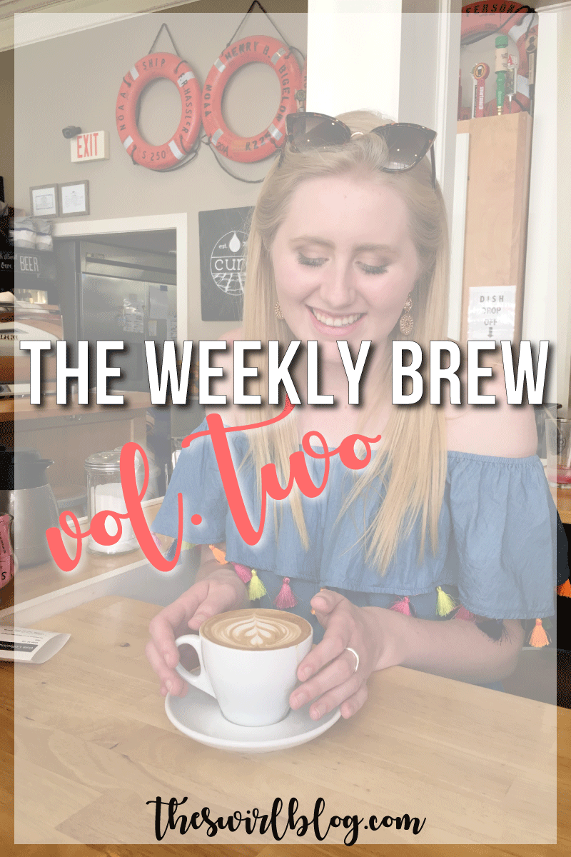 This week's chat is all about going back to school for my second semester of senior year (!!), running a lot to train for a half marathon, and how I'm dealing (or not dealing) with the frigid weather!
